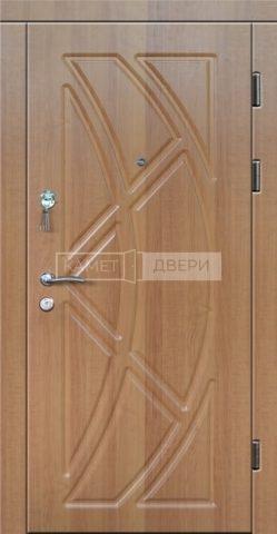 Входная металлическая дверь с отделкой Винорит