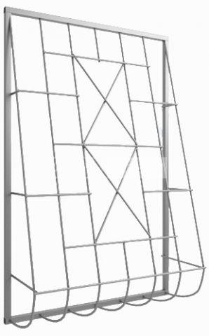 Дутая решетка на окна купить
