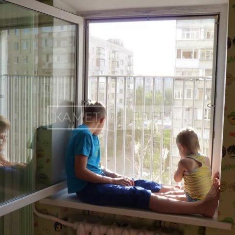Металлическая решетка от выпадения детей купить недорого