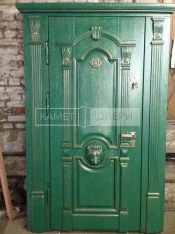 парадная дверь массив купить на заказ в Москве